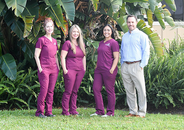 Dr. Colin M. McKinney and his team at Colin M. McKinney, DMD.